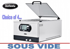 SOUS VIDE COOKING by INSTANTA SV25 - K.F.Bartlett LtdCatering equipment, refrigeration & air-conditioning